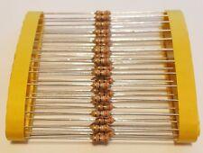 50 X Pellicola Sottile ASSIALE RESISTORE 390Ω ± 1% 1/4W ricambi elettronica