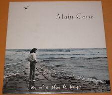 Alain Carre 33t on n'a plus le temps plusieurs chansons de brel le diable , fern