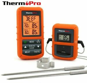 ThermoPro TP-20s Wireless Remote Digital Thermometer Dual Probe Cooking Meat