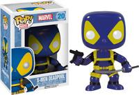 Pop! Vinyl--X-Men - Deadpool Blue & Yellow Pop! Vinyl