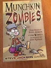 Munchkin Zombies Card Game With Expansion Pack 112 More Cards