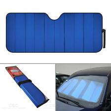 Reflective Blue Foil Car Sun Shade Standard Reversible Folding Windshield Cover