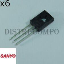 2SC2314 Transistor NPN 45V 1A TO-126 Sanyo RoHS (Lot de 6)