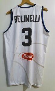 Canotta Jersey Maglietta Marco Belinelli Pallacanestro worn issued Nazionale