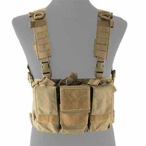 The Mercenary Company Six Pack 223 Chest Rig MOLLE Vest - Spiritus Micro Fight
