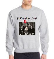 Horror Friends Pennywise Michael Myers Jason Voorhees Halloween Hoodie Jacket
