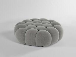 Roche Bobois Bubble Large Ottoman Grey 3D *IN STOCK*