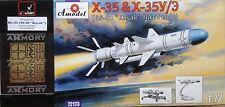 X-35 & X-35U/E (AS-20 code OTAN KAYAC) Amodel 72173 1:72+Photo-Etched set Armory