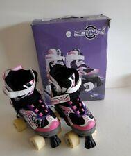 Senhai adjustable Quad roller skates/boots size 33-36 #H1