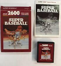 Atari 2600 SUPER BASEBALL