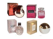 Mini Miniature Jimmy Choo Blossom BVLGARI Aqva Divina Omnia Woman Travel Perfume