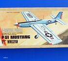 """Midwest Profile Warbird Plans: 33"""" P-51 Mustang for .15 Engines"""