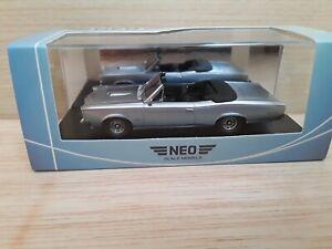 NEO 1/43 Pontiac GTO convertible 1966 Neo scale models