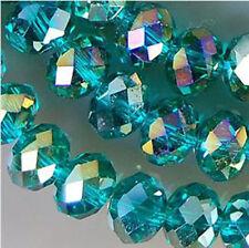 4x6mm Green Rainbow AB Swarovski Crystal Beads 1000pcs
