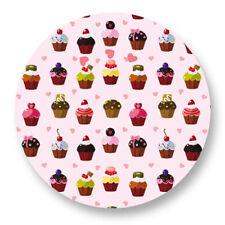 "Pin Button Badge Ø25mm 1"" Motif Cupcake Cake Gâteau Muffin Patisserie kawai"