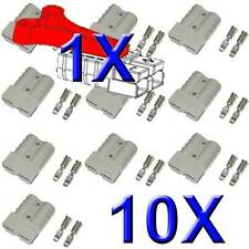 10X ANDERSON PLUGS 50 AMP FROM ABR-SIDEWINDER PLUS 1X FREE T HANDLE
