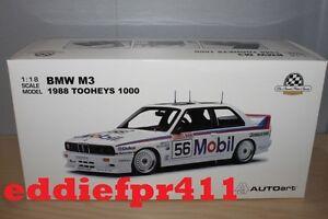 1/18 1988 BMW M3 COUPE PETER BROCK JIM RICHARDS BATHURST 1000 MOBIL #56 BIANTE