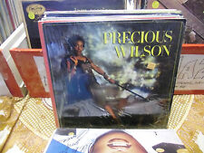 Precious Wilson Self Titled S/T vinyl LP 1986 Jive Records EX IN Shrink