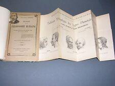 Rare Physiognomonie Ledos Traité de la physionomie humaine 2 vol. complet 1900