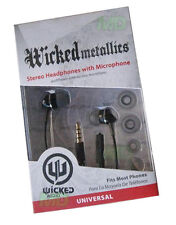 Orignal NEW Wicked Stereo Hands free Headset for Blackberry Curve 8500 8520 8530
