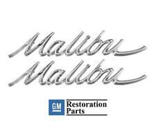 1966 1967 Chevelle Malibu Quarter Panel Emblems New