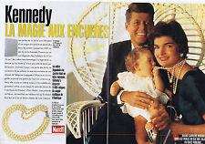 COUPURE DE PRESSE, CLIPPING 1996 KENNEDY Vente aux Enchères objets  12 pages