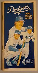 1985 Los Angeles Dodgers -  Media Guide