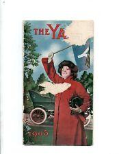 The Yale Car Brochure 1905 Kirk Mfg of Ohio 24 28 14 16 HP 2 4 Cyl Brochure