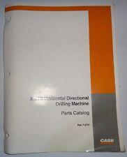 Case 200TX Horizontal Directional Drilling Machine Parts Catalog Manual Original