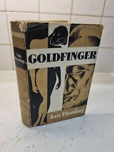 Ian Fleming - James Bond - Goldfinger - Book Club Hardback - 1959 First Edition