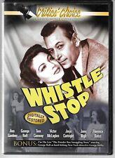 Critic's Choice WHISTLE STOP (1946 Noir/ Crime Film), Ava Gardner  USED DVD