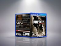 Call of Duty: Black Ops - Declassified - PlayStation Vita Cover and Case.NO GAME