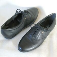 EASY SPIRIT Motion Anti Gravity Black Leather Walking Comfort Shoes Women Sz 9 N