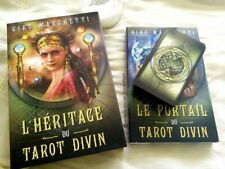 Jeu de tarot divinatoire L'héritage du tarot divin neuf en Français +livre