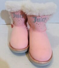 Toddlers Juicy Coutour Faux Fur Lined Boots Size 9