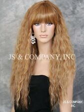 Super model Long Spanish Wavy Full Body Wig Blondes Tangerine mix HEP 2216