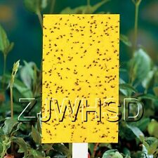 20pcs Yellow Sticky Insect Aphid Whitefly Thrip Gnat Fruitfly Leafminer Trap