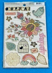 Fancy Pants Designs Chipboard Pieces - Springtime  Item # 1178  NIP/NOS