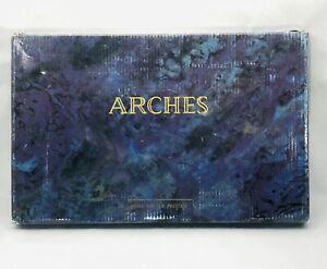 Arches Premium Art Cotton Paper Cold Press 62lbs 12.4 x 7.9 in 100 Sheets