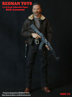 1/6 Scale custom REDMAN TOYS Sheriff RICK Accessories Full Sets walking dead
