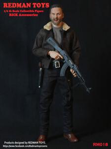 1/6 Scale custom REDMAN TOYS Sheriff RICK Accessories Full Sets walking dead