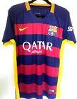 "Barcelona FC Shirt 2007/2008 Nike XS Small 30"" - 32"" 15/16 Neymar 11 Extra Small"
