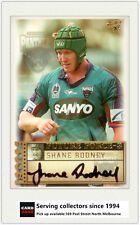 2003 Select NRL XL Future Force Signature Card FF39 Shane Rodney (Panthers)