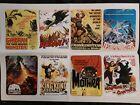"""Large Stickers 8pcs (2.5""""×3.5"""") Godzilla Mothra Rodan Movie Posters: lot.3"""