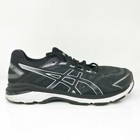 Asics Mens GT 2000 7 1011A161 Black White Running Shoes Lace Up Low Top Size 10