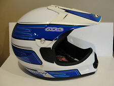 Answer Racing Blue and White M6 Helmet, Size XXL *New*