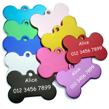 Free Engraving Dog Cat Id Tags DIY Personalized Dogs Id Tag Stainless Steel Tag
