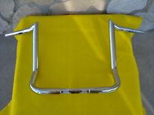 """14"""" Chrome Monkey Monster Ape Hanger Bars 1 1/4"""" Handlebars Harley Batwing 86-Up"""