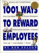 1001 Ways to Reward Employees, Bob Nelson, 156305339X, Book, Good