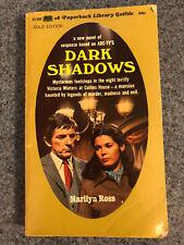 Marilyn Ross Dark Shadows #1 Gothic Paperback Library 52-386 1968
